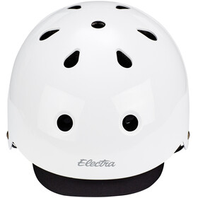 Electra Bike Helmet gloss white